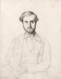 portrait d'homme by rudolf w. a. lehmann