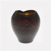 vase ovoïde by émile gallé