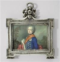 könig friedrich ii. von preussen als junger regent by anton friedrich könig