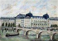 quai de seine, gare du musée d'orsay by michel david