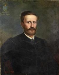 portrait of lászlófalvi velits ágost by lajos ábrányi