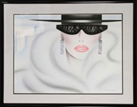 woman with sunglasses by e. freyman