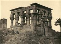 temple hyptère by maxime du camp
