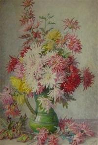 bouquet de fleurs by antoinette chavagnat