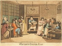 wright's oyster room (after woodward) by johann ziegler