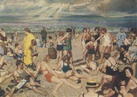 revere beach by donald gordon squier