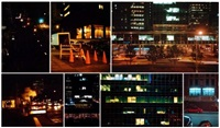 city at night series (11 works) by jennifer bolande