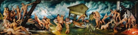 deluge (in 3 parts) by david lachapelle