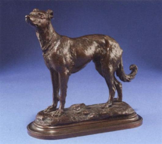 a deer hound by jules richard