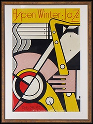 aspen winter jazz by roy lichtenstein