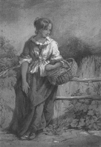 the little fruit girl by william henry kearney