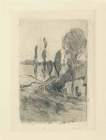 french landscape by john henry twachtman