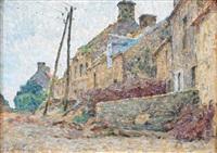 vieilles maisons à lestre-guineville-manche by emile ancelet