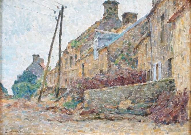vieilles maisons à lestre guineville manche by emile ancelet