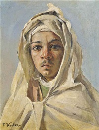 a young bedouin by franz xavier kosler