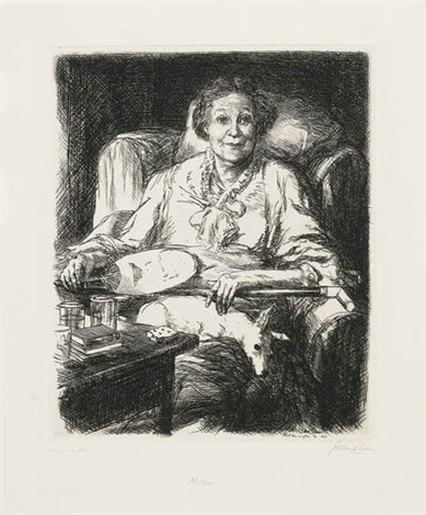 george eliot mother dolly 3 works various dates and sizes from mother by john french sloan