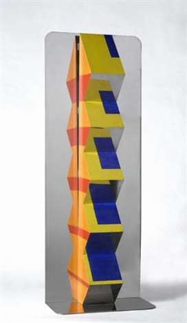 reflector column ziglical 11 by joe tilson