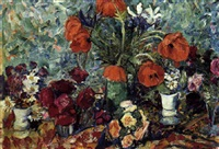 blomsteropstilling by louis lejeune