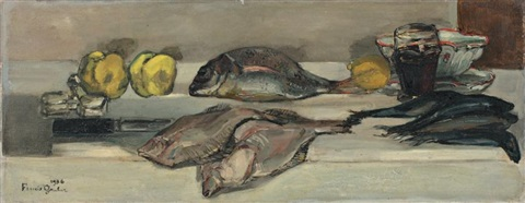 composition aux poissons by francis gruber