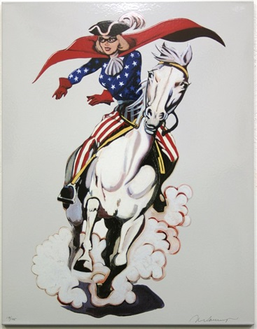 miss america by mel ramos