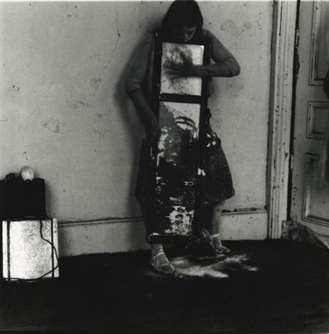 untitled self portrait providence rhode island by francesca woodman