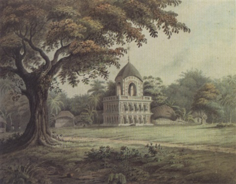 a hindu temple at barripore near calcutta by hubert cornish