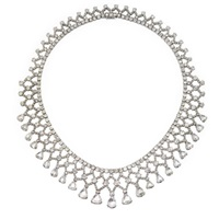 a bib necklace by fred leighton