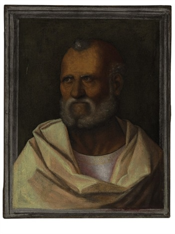 a male saint by giovanni bellini
