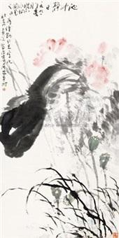 池中静日 by liu zhanjiang