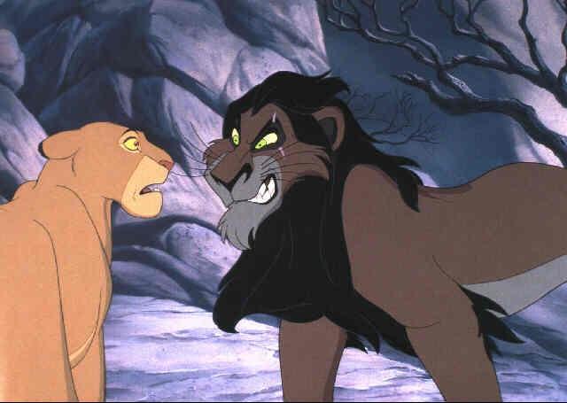 The Lion King Scar And Sarabi By Walt Disney Studios On Artnet