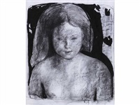 jeune femme by eugène bégarat