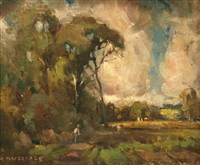 landscape by norman macgeorge
