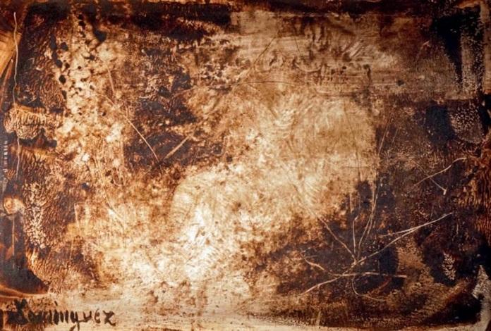 composition by oscar domínguez
