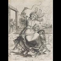aristole and phyllis by matthaus zasinger