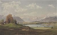 alpines hochland by hans sengthaler