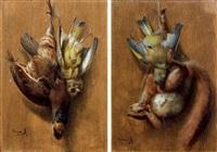 trophées de chasse (2 works) by arsène symphorien sauvage