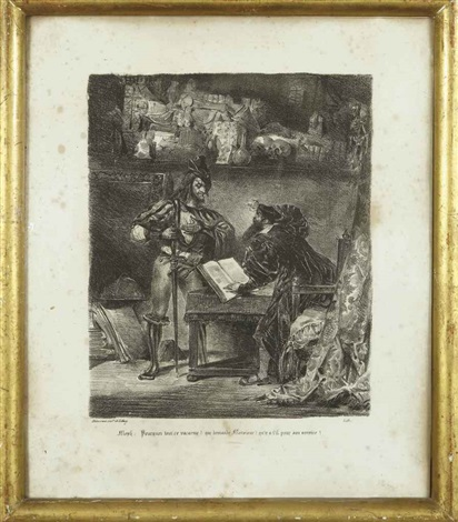 illustrations pour faust 8 works by eugène delacroix