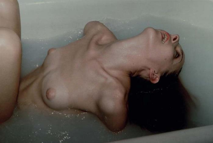 greer in her tub greer dans son bain nyc by nan goldin