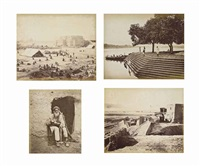 photographs of kandahar and its environs (album w/87 works); b.b. (album w/various works) by benjamin (sir.) simpson