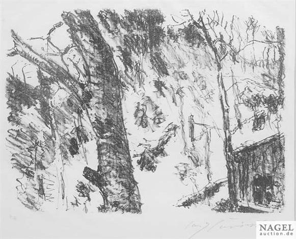buchenwald from vorfrühling in den bergen by lovis corinth