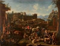 le marché aux bestiaux by pietro maurizio bolckman