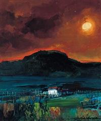 tramonto by gianni sesia della merla