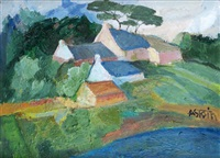 maisons sur le rivage by marie astoin