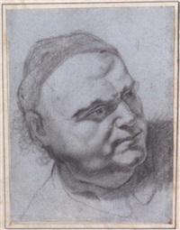 porträtstudie by johann zick