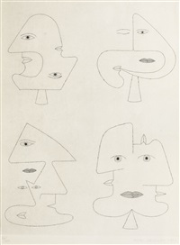 codex d'un visage by victor brauner