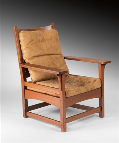 chair by gustav stickley