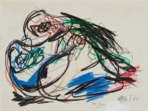 cat by karel appel