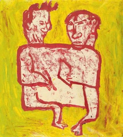 deux personnages by donald baechler