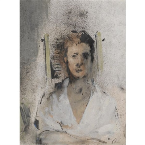 portrait of mrs james catney by john latham