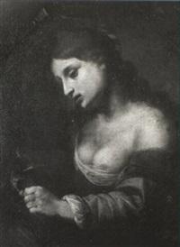st. catherine of alexandria by felice (il risposo) fischerelli